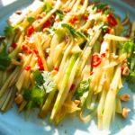 Asiatischer Gurken-Mango-Salat (schnell gemacht)